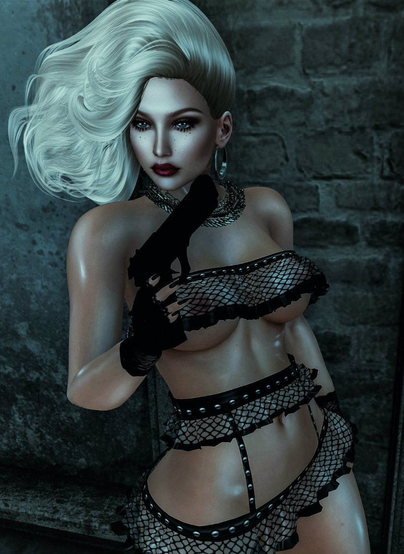 Femme Fatale At Night